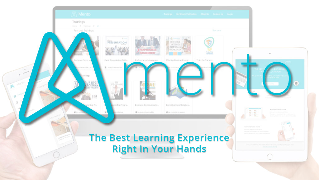 Product Banner for Mento